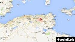 محل سقوط هواپیما منطقهای کوهستانی از استان أم البواقی در شمال شرقی الجزایر عنوان شده است