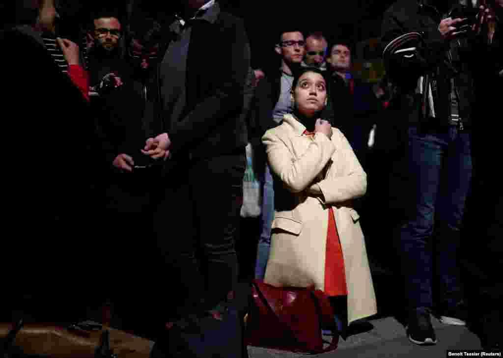 Архиепископ Парижа Мишель Опети призвал граждан молиться засобор