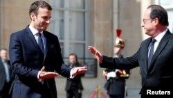 Ֆրանսիա - Ֆրանսուա Օլանդը լքում է Ելիսեյան պալատը՝ նախագահի լիազորությունները փոխանցելով Էմանյուել Մակրոնին, Փարիզ, 14-ը մայիսի, 2017թ․