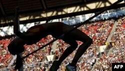 На чэмпіянаце сьвету па лёгкай атлетыцы ў Маскве.