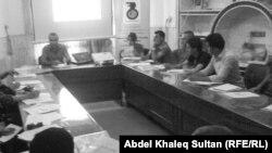 جانب من الجلسة الختامية لمشروع نشر التعددية في دهوك