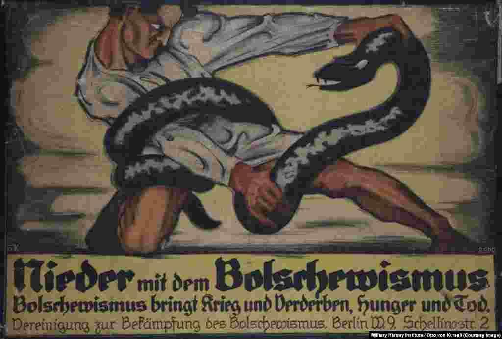 """""""Болшевизм охьатаIае"""", 1919"""