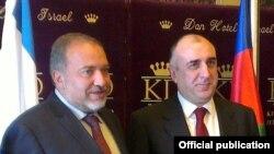 Elmar Məmmədyarov Avigdor Liberman-la görüşür - 22 aprel 2013