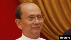 Дзейны прэзыдэнт М'янмы (Бірма) Тэйн Сэйн