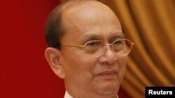 Presidenti i Birmanisë, Thein Sein.