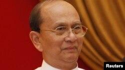 Мьянма президенті Тейн Сейн.
