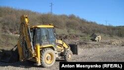 На трассе Севастополь – Симферополь идут дорожные работы