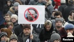 Оппозиция жактоочулары митинг алдында. 5-март, Москва.