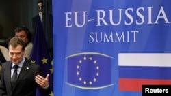 Для Дмитрия Медведева в Брюсселе тема номер один - вступление России в ВТО