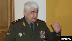 Tajikistan - Sherali Khayrulloev, Tajikistan Minister of Defence, Dushanbe, 20Feb2010