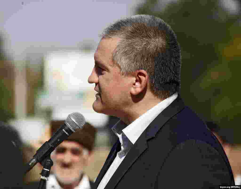 Председатель Совета министров Крыма Сергей Аксенов