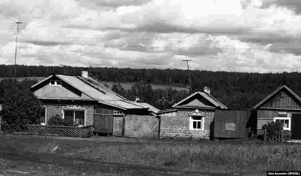 Село Кутугун. Здесь многие кыргызстанцы занимаются животноводством.