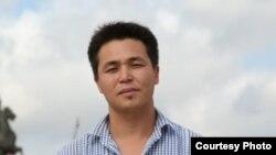 RFE/RL correspondent Orken Zhoyamergen