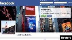 Profili në Facebook i bashkë-pilotit