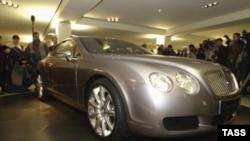 Bentley угоняют даже несмотря на то, что спрятать его практически невозможно