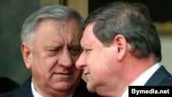 Міхаіл Мясьніковіч і Сяргей Сідорскі