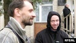 Анджэй Пісальнік і Ігар Банцар (справа)
