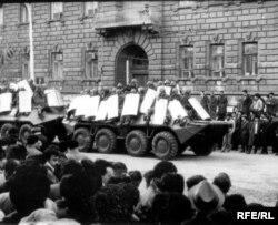 «Чорний січень» 1990-го, Баку
