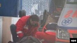 Спасательная операция в Катовице