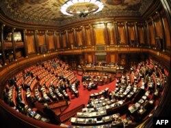 Իտալիա -- Խորհրդարանը քվեարկում է տնտեսական ռեֆորմների փաթեթի օգտին, Հռոմ, 11-ը նոյեմբերի, 2011թ․