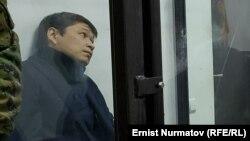 Сапар Исаков в суде. Архивное фото.