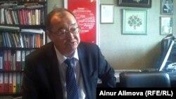 Серик Аханов, председатель Ассоциации финансистов Казахстана. Алматы, 11 июня 2013 года.