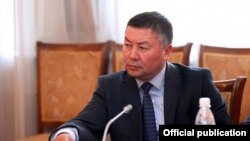 Депутат парламента КР Канатбек Исаев.
