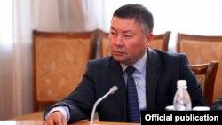 Депутат Жогорку Кенеша Канат Исаев.