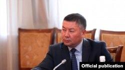 Депутат парламенту Киргизстану Канатбек Ісаєв