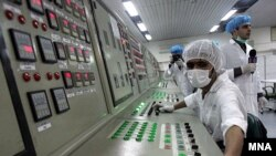 تاسیسات اتمی ایران در نطنز در استان اصفهان