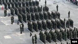 Pjesëtarë të FSK-së...