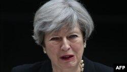 Прем'єр Великої Британії Тереза Мей, Лондон, 23 травня 2017 року