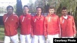 Тениската репрезентација на Македонија.