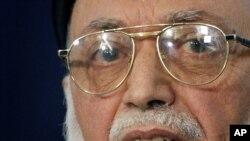 Burhanuddin Rabbani was killed on September 20