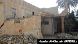 Ռմբակոծված քաղաք Իրաքում, արխիվ