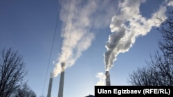 Бишкек жылуулук-электр борбору. 10-январь, 2018-жыл.