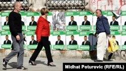 BiH uskoro ponovo pod predizbornim plakatima, ilustrativna fotografija
