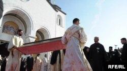 Patrijarh je sahranjen u manastiru Rakovica