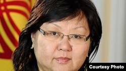 Глава официальной делегации Кыргызстана, заместитель руководителя аппарата президента Мира Карыбаева.