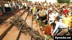 15-я гадавіна трагедыі на Нямізе