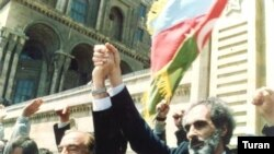 Prezident Elçibəy «Azadlıq» meydanında. 23 iyun 2008