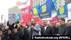 Мітинг опозиції під ЦВК