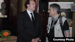 "Mark Mast și Victor Eskenasy la Festivalul ""Celibidache 100"" (Foto: Dorel Melinte)"