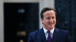 David Cameron gjatë fjalimit të sotëm para zyrës së tij në Londër