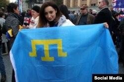 Мітинг проти анексії Абхазії, Тбілісі, листопад 2014
