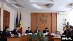 Ședința Consiliului civil pentru monitorizarea CCCEC
