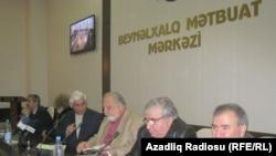 Noyabrın 4-də Ziyalılar Forumunun toplantısı keçirilib