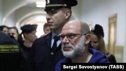 Алексий Малобродский в Басманном суде, 18 июля 2017 г.