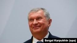 """""""Роснефть"""" мамлекеттик мунай компаниясынын башчысы Игорь Сечин."""