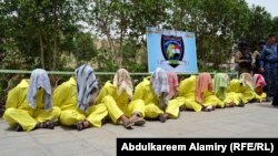 Një grup i pjesëtarëve të dyshuar të al-Kaidës në Basra